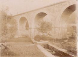 Photo Années 1900 POUJOL-SUR-ORB - Un Pont (A159) - Unclassified