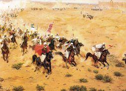 1 AK Irak Iraq * Gemälde Von Der Schlacht Von Al-Qadissīya * - Irak