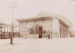 Photo Années 1900 BEDARIEUX - La Gare (A159) - Bedarieux