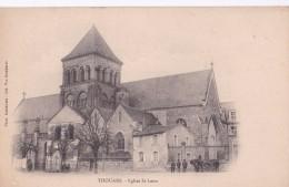 Carte Précurseur 1900 THOUARS / EGLISE ST LAON - Thouars