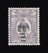 NOUVELLE-CALEDONIE N° 127a 25 Sur 15c Violet. Double Surcharge. Neuf Sans Charnière. Cote Yvert 143 €. TTB - Nouvelle-Calédonie