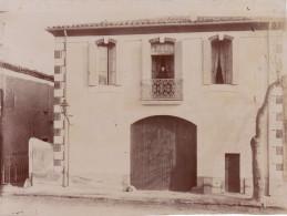 Photo Années 1900 BEDARIEUX - Une Maison (A159) - Bedarieux