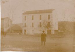 Photo Années 1900 BEDARIEUX - Une Vue (A159) - Bedarieux