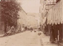 Photo Années 1900 BEDARIEUX - Une Rue (A159) - Bedarieux