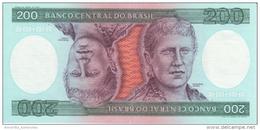 BRAZIL 200 CRUZEIROS ND (1984) P-199 UNC  [BR821b] - Brazilië