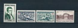 France Timbres De 1952 N°936 Au N°939  Neuf  ** Parfait Sans Charnière - Frankrijk
