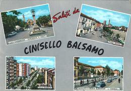 SALUTI DA CINISELLO BALSAMO (MI)  - F/G - V: 1967 - Cinisello Balsamo