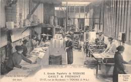 37 - INDRE ET LOIRE / Tours - Grande Papeterie De Touraine - Rue De Bordeaux - Atelier De Fabrication Des Sacs - Tours