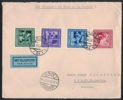 JP99     Flugpost Wien To Wil  Switzerland - With Good Stamp 1936 - 1918-1945 1. Republik