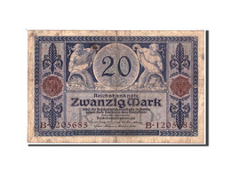 Allemagne, 20 Mark, 1915, KM:63, 1915-11-04, B - 20 Mark