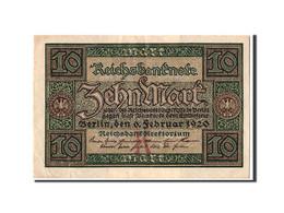 Allemagne, 10 Mark, 1920, KM:67a, 1920-02-06, TTB+ - [ 3] 1918-1933 : Weimar Republic