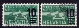 Schweiz Nr.286 A+b         O  Used       (654) - Suisse