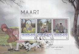 Persoonlijke Postzegels Rie Cramer - Maart Roert Zijn Staart - Speciale Stempel: Laren - 3 Maart 2015 - Netherlands