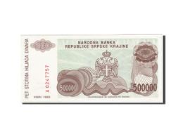 Croatie, 500,000 Dinara, 1993, 1993, KM:R23a, SUP - Croatie