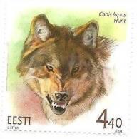 Estonia / Estland Wolf , Wild Animals MNH 2004 - Estonie
