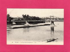 37 INDRE ET LOIRE, TOURS, Le  Pont St-Symphorien, Animée, Aviron, (L. L.) - Tours