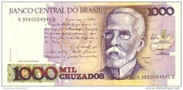 BRAZIL 1000 CRUZADOS ND (1988) P-213 UNC  [BR835b] - Brésil