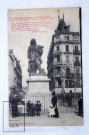 Old Postcard France, Beziers - Statue De Paul Riquet, Auteur Du Canal Du Midi - Animée - Unposted - Beziers