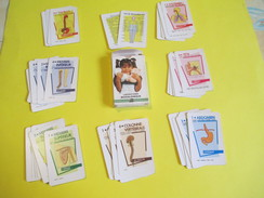 """Jeux 7 Familles Publicitaire à Théme/Laboratoires Biogalénique/""""Le Corps Humain""""/Carta Mundi/Turnout/Belgique/1989 CAJ20 - Group Games, Parlour Games"""