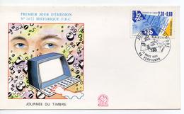 Sobre De Primer Dia De Francia De 1990 - FDC