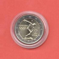 GREECE 2004 2 EURO COMMEMORATIVE COIN UNC - Grèce