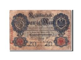 Allemagne, 20 Mark, 1908, KM:31, 1908-02-07 - [ 2] 1871-1918 : German Empire