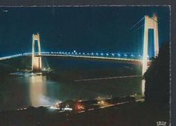 Tancarville (76) : Le Pont La Nuit - Tancarville