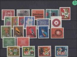BRD  Posten/Lot  Jahr 1963  Postfrisch      MiNr. 390-411 - Non Classés