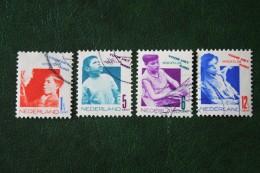 Kinderzegel Child Welfare Enfants Kinder NVPH 240-243 (Mi 245-248) 1931 Gestempeld / USED NEDERLAND / NIEDERLANDE - Oblitérés