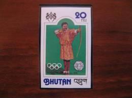 Bhutan 1976 Olympics 720 Imperf MNH - Ete 1976: Montréal