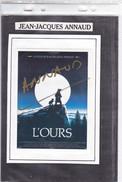 Jean-Jacques Annaud - Autographes