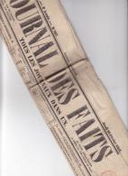 """JOURNAL DES FAITS """" Tous Les Journaux Dans Un """", N°307  -20 Fevrier 1851 - Paris Quotidien  - Journaux - Quotidiens"""