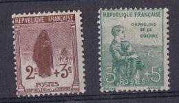 FR 127 - FRANCE N° 148/49 Neufs* Orphelins De Guerre - France