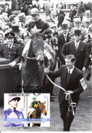 Australia 2007 Maxicard Scott #2595-#2596 Scobie Beasley - Horse Racing Legends - Maximumkarten (MC)