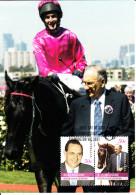 Australia 2007 Maxicard Scott #2601-#2602 Bob Ingham - Horse Racing Legends - Maximumkarten (MC)