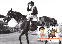 Australia 2007 Maxicard Scott #2603-#2604 George Moore - Horse Racing Legends - Maximumkarten (MC)