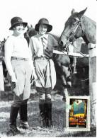 Australia 2007 Maxicard Scott #2668 $2 Riding In The Country - 1930s Travel Posters - Maximumkarten (MC)