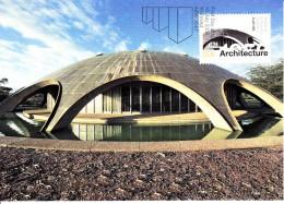 Australia 2007 Maxicard Scott #2710 50c Academy Of Science, Canberra - Architecture - Maximumkarten (MC)