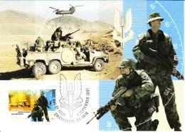 Australia 2007 Maxicard Scott #2725 50c Special Air Service, 50th Anniversary - Maximumkarten (MC)