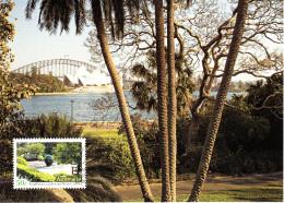 Australia 2007 Maxicard Scott #2728 50c Royal Botanic Gardens And Domain - Maximumkarten (MC)
