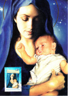 Australia 2007 Maxicard Scott #2759 45c 50 Years Of Christmas Stamps - Madonna And Child - Maximumkarten (MC)