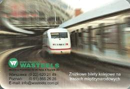 RAIL * RAILWAY * RAILROAD * TRAIN * WARSAW * POZNAN * CALENDAR * Wasteels 2001 * Poland - Calendriers