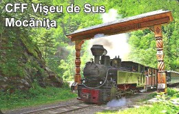 RAIL * RAILROAD * FOREST RAILWAY * TRAIN * STEAM LOCOMOTIVE * MOCANITA * VISEU DE SUS * CALENDAR * CFF 2014 * Romania - Calendari