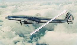 "Avion LOCKHEED ""Super Constellation"" Cie  Air France - Comité National De L'Enfance 51, Av, Franklin-D-Roosevelt, Paris - 1946-....: Moderne"