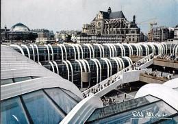 ALBERT MONIER PHOTOGRAPHE PARIS FORUM DES HALLES  ARCHITECTES VASCONI ET PENCREAC'H ECRITE CIRCULEE 1981 - Monier