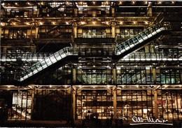 ALBERT MONIER PHOTOGRAPHE PARIS  10.922 CENTRE NATIONAL D'ARTS ET DE CULTURE GEORGES POMPIDOU ARCHITECTES PIANO & ROGERS - Monier