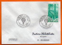 07 HEILIGENBERG  BALLON POSTE    1970   Lettre Entière  N° X 462 - Airships