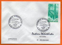 31 TOULOUSE   AEROSPATIALE  ( Timbre Concordant )  1970  Lettre Entière  N° X 468 - Covers & Documents