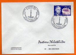 40 BISCARROSSE   CENTRE D'ESSAIS DES LANDES    1971  Lettre Entière  N° X 470 - Covers & Documents