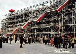 ALBERT MONIER PHOTOGRAPHE PARIS  CENTRE NATIONAL D'ARTS ET DE CULTURE GEORGES POMPIDOU ARCHITECTES PIANO & ROGERS - Monier